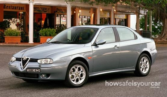 2003           Alfa Romeo           156