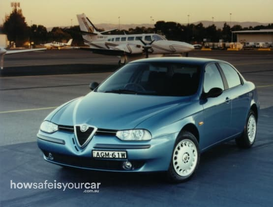 2001           Alfa Romeo           156