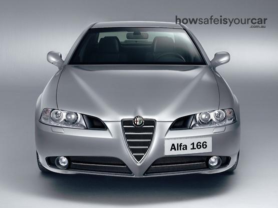 2005           Alfa Romeo           166