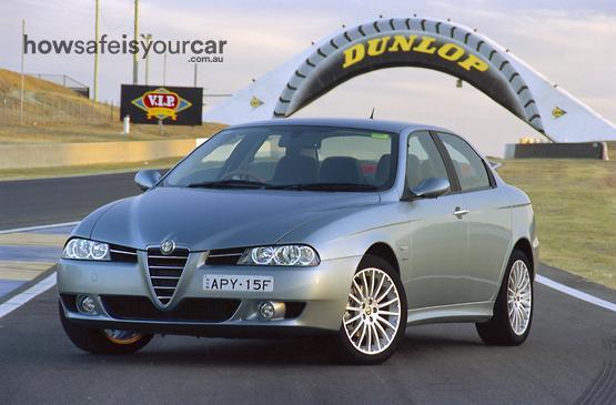 2006           Alfa Romeo           156