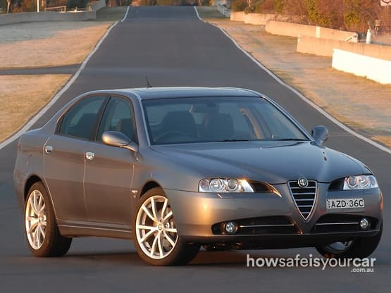 2008           Alfa Romeo           166