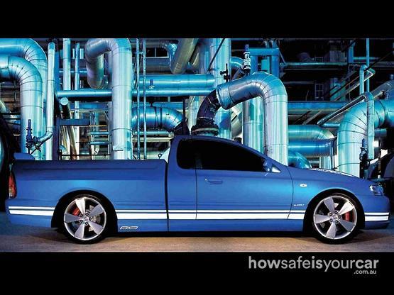2005           Ford Performance Vehicles           Super Pursuit