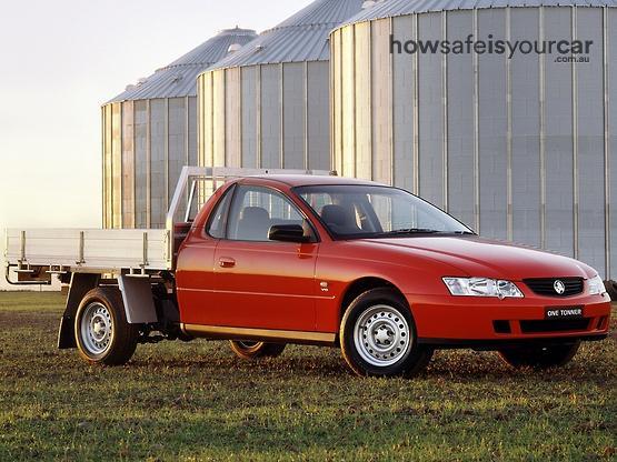 2004           Holden           One tonner