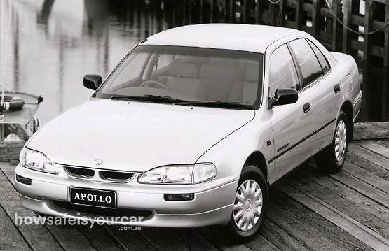 1996           Holden           Apollo