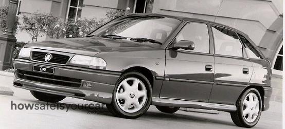 1998           Holden           Astra