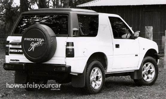 1996           Holden           Frontera
