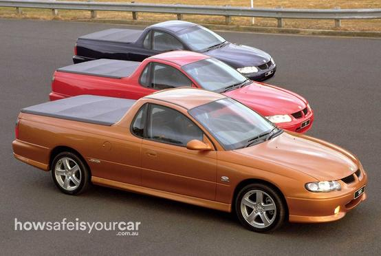 2001           Holden           Ute