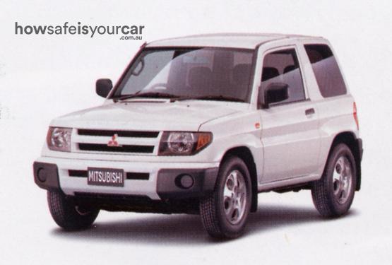 2000           Mitsubishi           Pajero iO