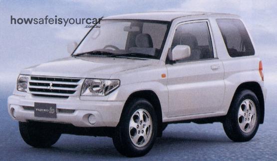 2002           Mitsubishi           Pajero iO