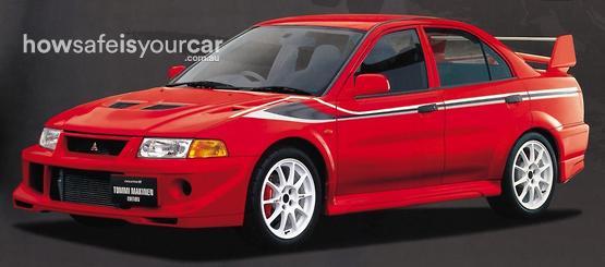2001           Mitsubishi           Ralliart Evo