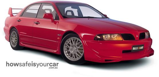 2002           Mitsubishi           Ralliart Magna