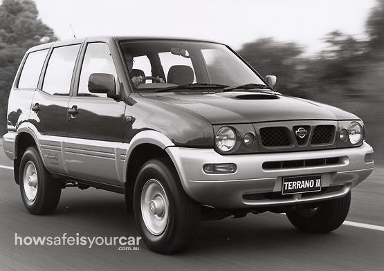 1999           Nissan           Terrano II