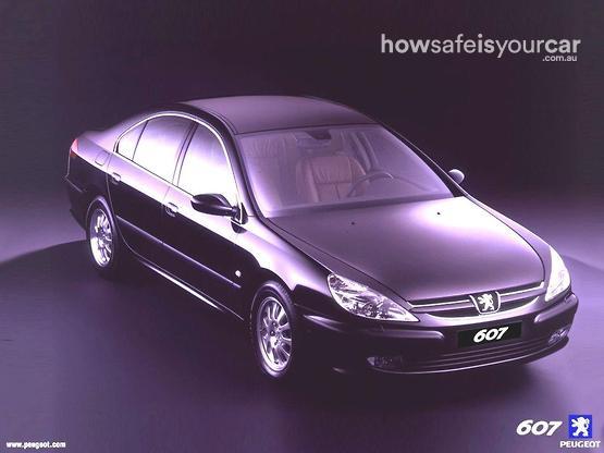 2004           Peugeot           607