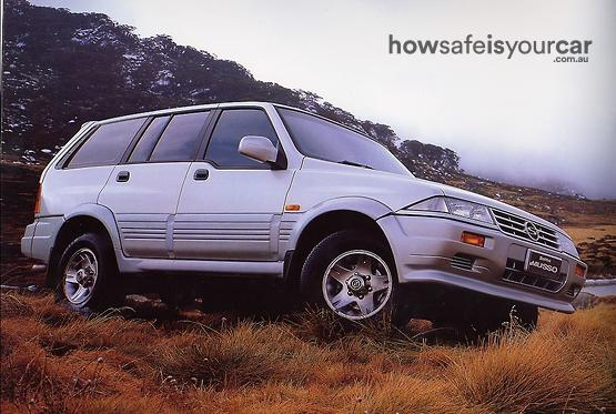 1998           SsangYong           Musso