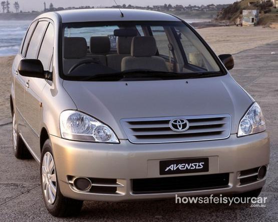 2001           Toyota           Avensis Verso